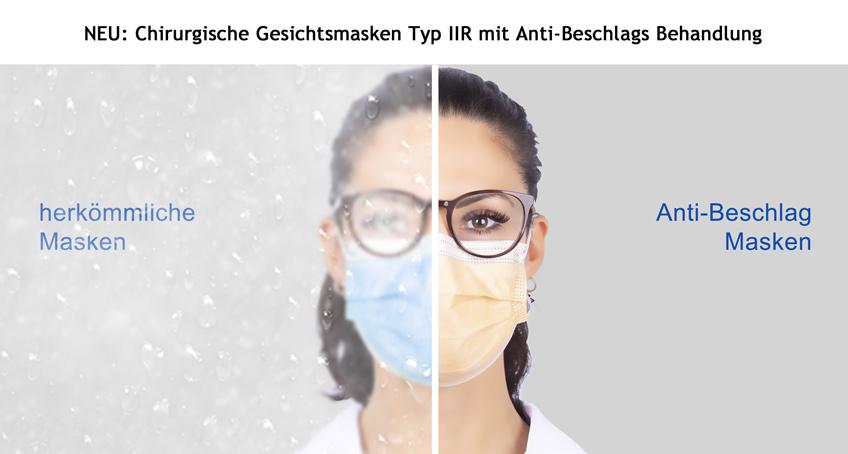 _Maske mit Anti-Beschlags Behandlung