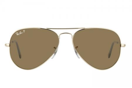 Ray-Ban 3025 Aviator 001 / 57 Polarized Sonnenbrille