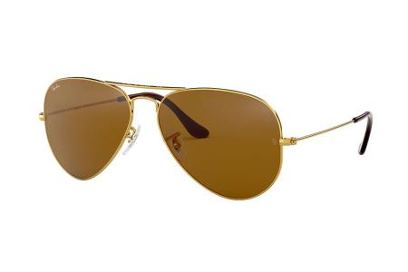 Ray-Ban Aviator 3025-001/33 Arista Crystal Brown