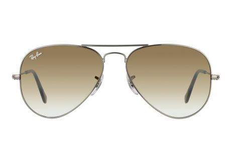 Ray-Ban Aviator Gunmetal Brown Gradient RB 3025-004/51