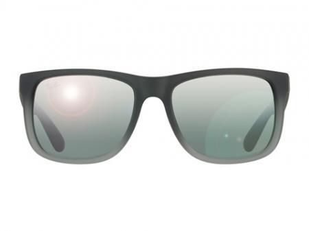 Ray-Ban 4165 Justin 852 / 88 Silver Mirror Gradient Sonnenbrille
