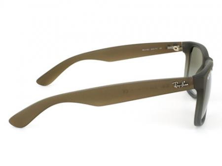 Ray-Ban RB 4165 Justin Rubber Brown on Gray 854/7Z