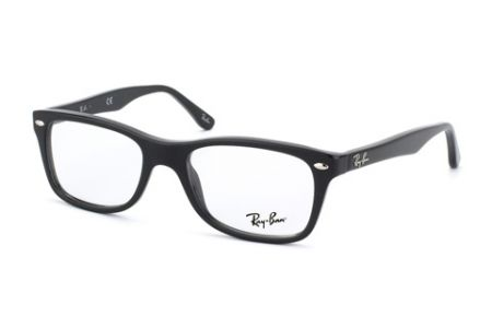 Ray-Ban RX 5228, Shiny Black 2000, 50