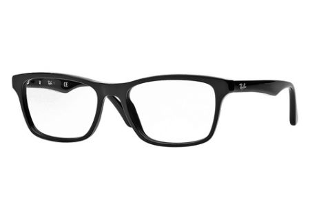Ray-Ban RX 5279, Shiny Black 2000, 53