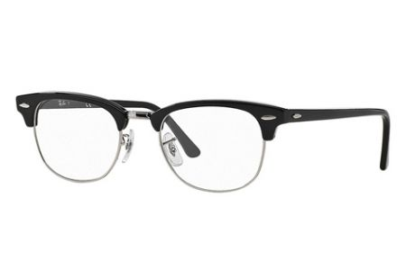 Ray-Ban Clubmaster RX 5154 - 49 Shiny Black 2000 Brille
