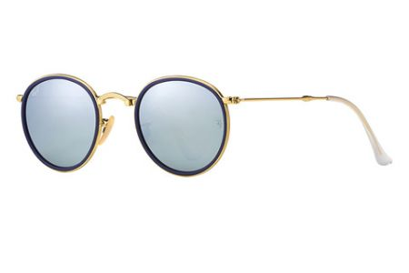 Ray-Ban 3517 Round Metal Folding 001/30