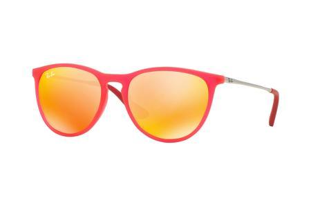 Ray-Ban 9060S Izzy 7009 / 6Q Brown Mirror Orange Sonnenbrille