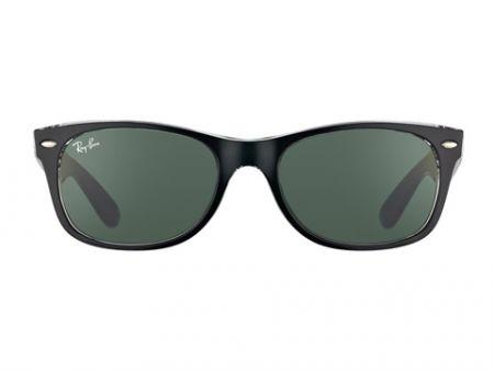 Ray-Ban new Wayfarer Top Black on Transparent 6052