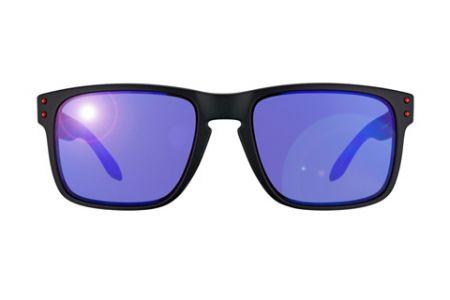 Oakley Holbrook OO9102-36 Positive Red Iridium Sonnenbrille