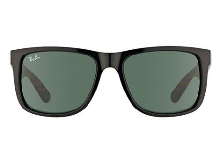 Ray-Ban 4165 Justin 601 / 71 Green Sonnenbrille