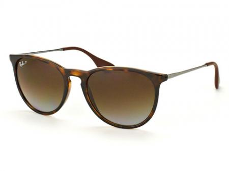 Ray-Ban 4171 Erika 710 / T5 Brown Gradient Polarized Sonnenbrille