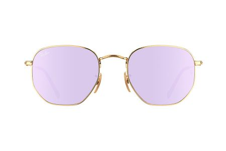 Ray-Ban 3548N Gold Wisteria Flash RB3548N-001/8O