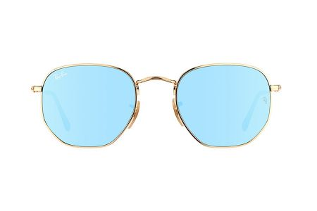 Ray-Ban 3548N Gold Wisteria Flash RB3548N-001/9O