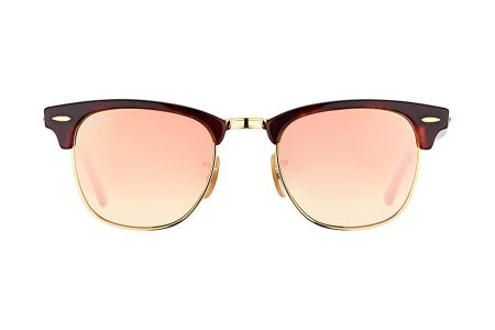 Ray-Ban 3016 Clubmaster Shiny Red/Havanna 990/7O