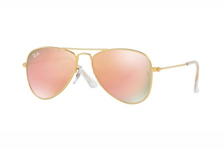 Ray-Ban RJ 9506S 249/2Y Matte Gold Copper Flash
