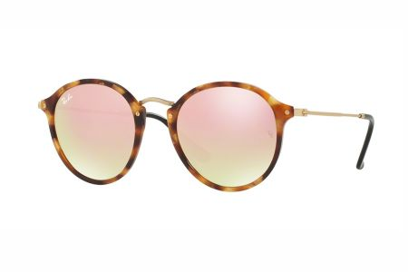 Ray-Ban RB2447 1160/7O Spotted Brown Havanna Flash