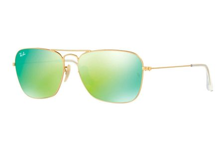 Ray-Ban 3136 Caravan 112/19 Green Mirror
