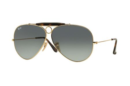 Ray-Ban RB3138 Shooter 181/71 Gold