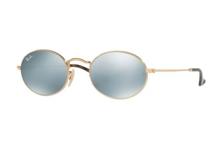 Ray-Ban RB3547N-001/30 Gold Grey Flash