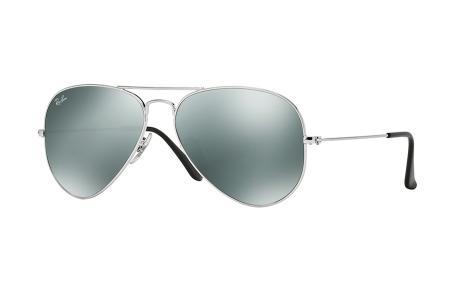 Ray-Ban 3025 Aviator W3275 / W3577 Grey Mirror Sonnenbrille