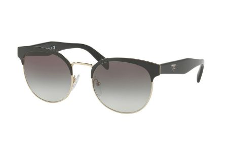 Prada 61TS-1AB0A7 Black/Pale Gold Gradient Grey