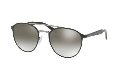 Prada 62TS-1AB4S1 Black/ Gunmetal Gradient Grey Mirror Silver (copy)