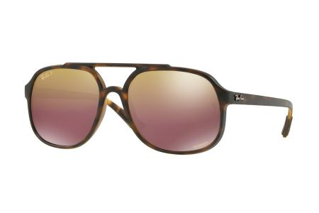 Ray-Ban 4312CH 894/6B Matt Havanna Chromance