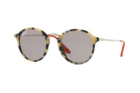 Ray-Ban RB2447 1247/P2 Beige Havanna Grey Polarized