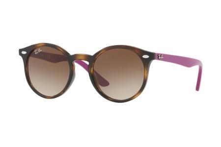 Ray-Ban 9064S - 7041 / 13 Brown Gradient Sonnenbrille