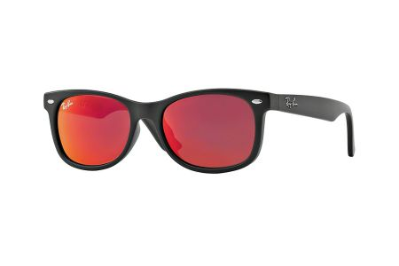 Ray-Ban RJ 9052S 100S/6Q Matte Black Red Multilayer