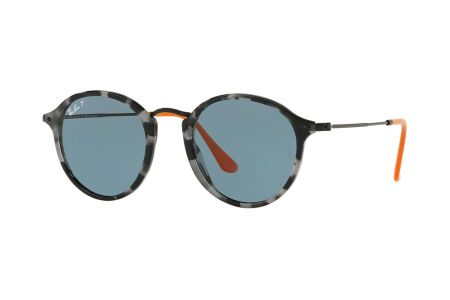 Ray-Ban RB2447 1247/52 Grey Havanna Blue Polarized