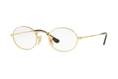Ray-Ban RX 3547V - 48 Gold 2500 Brille