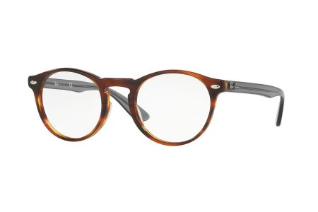 Ray-Ban RX 5283-5607, Striped Havanna, 47