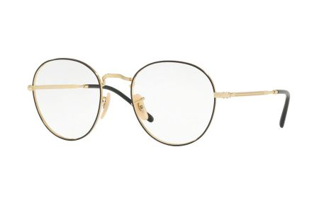 Ray-Ban 3582V-2946, 51 Gold on Top Black