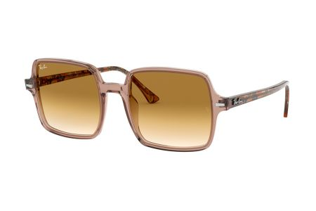 Ray-Ban RB1973 Square II 128151 Transparent Light Brown