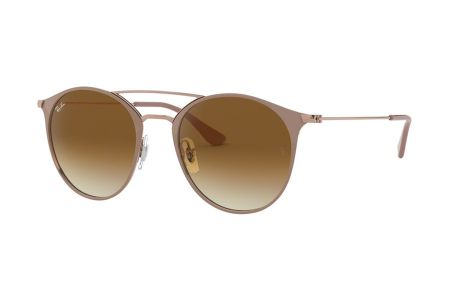 Ray-Ban 3546 - 907151 Clear Gradient Brown Sonnenbrille