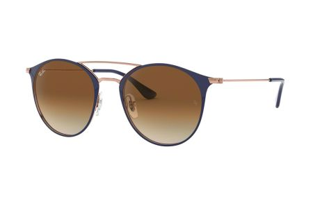 Ray-Ban RB3546 917551 Copper on Top Dark Blue