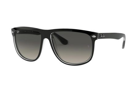 Ray-Ban 4147 Boyfriend 603971 Top Black on Transparent