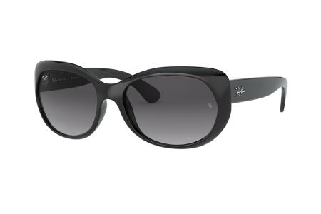Ray-Ban 4325 - 601 / T3 Grey Gradient Polarized Sonnenbrille