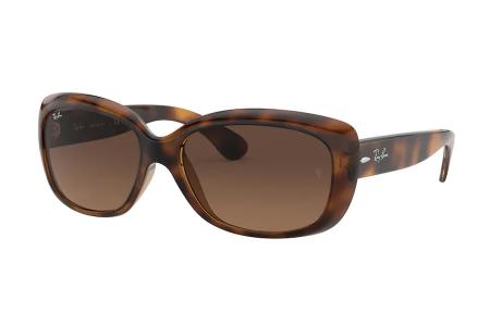 Ray-Ban 4101 Jackie Ohh 642 / 43 Light Brown Gradient Black Sonnenbrille