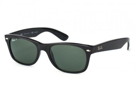 Ray-Ban new Wayfarer Black Polarized 901/58