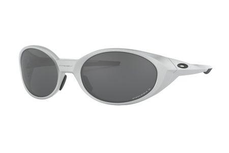 Oakley Eye Jacket Redux OO9438-05 Silver Prizm Black Polarized