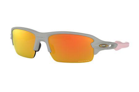 Oakley Flak XS OJ9005-09 Matte Cool Grey Prizm™ Ruby