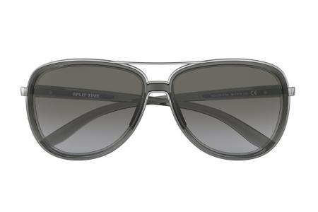 Oakley Split Time OO4129-01 Black Grey Gradient Sonnenbrille