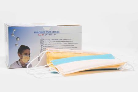 1 Box Chirurgische Gesichtsmaske mit Anti-Beschlag Behandlung