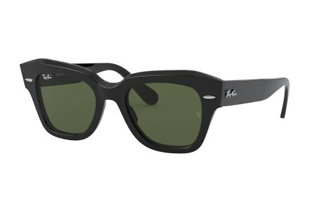 Ray-Ban 2186 State Street 901 / 31 Black Sonnenbrille