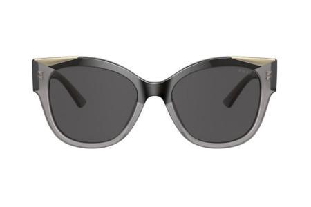 Prada 02WS 03M-5S0 Black Opal Grey Sonnenbrille