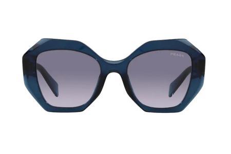 Prada 16WS 08Q-08I Blue Transparent Sonnenbrille