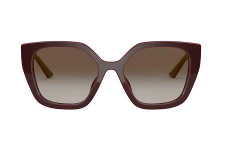 Prada 24XS UAN-0A7 Bordeaux Sonnenbrille