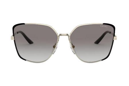 Prada 60XS AAV-0A7 Pale Gold / Black Sonnenbrille